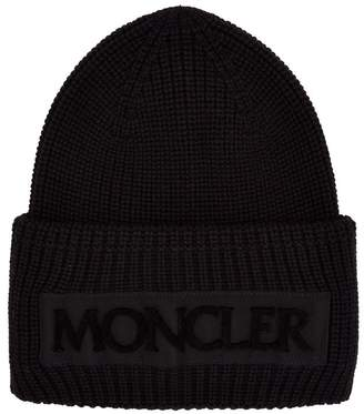 Moncler Knitted Logo Hat