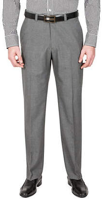 Haggar Cross Bone Straight-Fit Dress Pants
