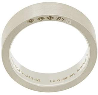 Le Gramme 7 grams slick brushed ring
