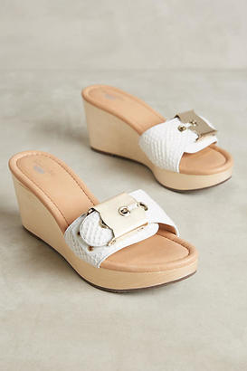 Dr. Scholl's Enya Wedge Sandals $128 thestylecure.com