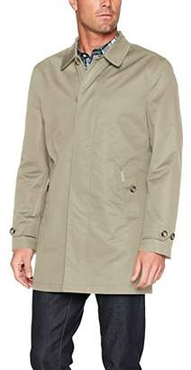 Ben Sherman Men's Cotton Mac Jacket