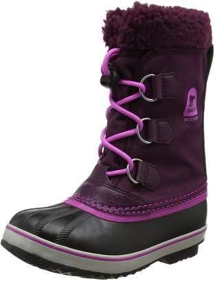 Sorel Girls' Yoot Pac Nylon, Purple Dahlia