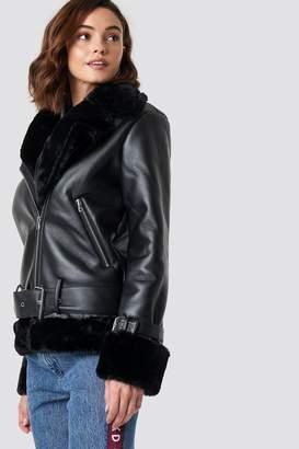 Na Kd Trend Oversized Padded Biker Jacket