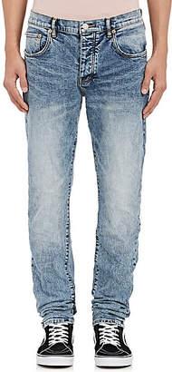 Purple Men's P001 Slim Jeans - Lt. Blue