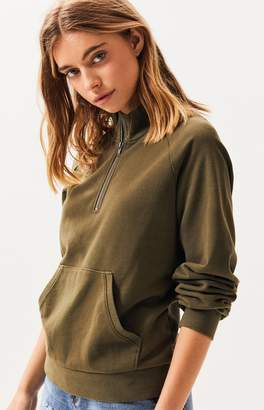 LA Hearts Sequoia Half Zip Sweatshirt