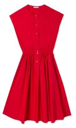 Lacoste (ラコステ) - フィッテッド コットンポプリン ドレス