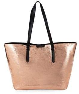KENDALL + KYLIE Classic Metallic Tote