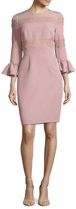 JS Collections Crepe Cocktail Dress