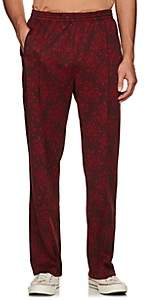 Needles Men's Floral Jersey Track Pants - Wine