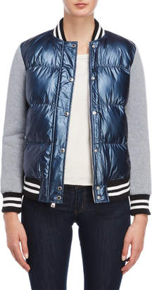 Levi's Mixed Media Quilted Bomber Jacket