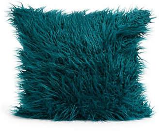 DISTINCTLY HOME Shaggy Square Faux Fur Cushion
