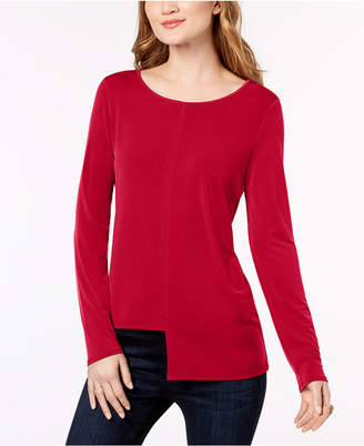 INC International Concepts I.n.c. Asymmetrical Top, Created for Macy's