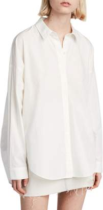 AllSaints Sada Oversize Button Down Shirt