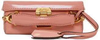 Mark Cross Pink Mini Grace Box Bag