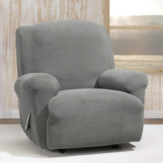 Sure Fit Stretch Morgan T-Cushion Recliner Slipcover