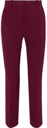 Joseph Zoom Tapered Stretch-crepe Pants - Merlot