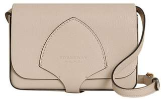 Burberry Hampshire Leather Crossbody Bag
