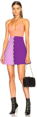 Fausto Puglisi Color Block Dress