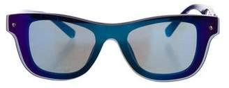 3.1 Phillip Lim Rimless Mirrored Sunglasses