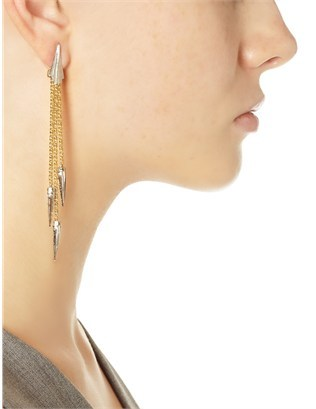 Gillian Steinhardt Gold Plated Viva Earrings