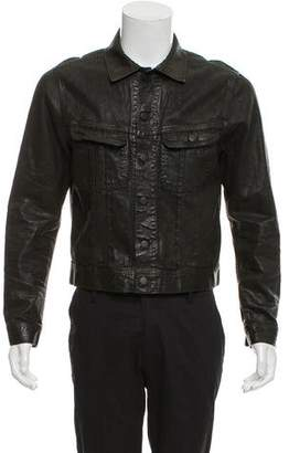 Ralph Lauren Black Label Coated Denim Jacket