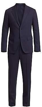 Ermenegildo Zegna Men's Solid Navy High Performance Packaway Suit