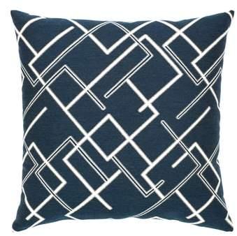 Divergence Indigo Indoor/Outdoor Accent Pillow