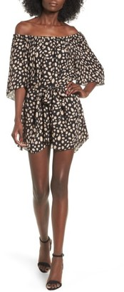 Women's Stone Cold Fox Shadmoor Silk Off The Shoulder Dress $285 thestylecure.com