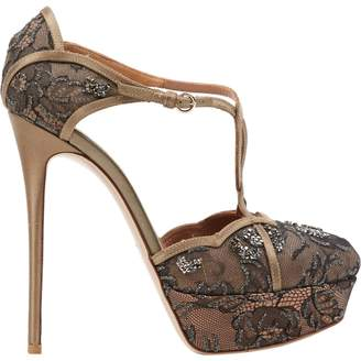 95473c82f1a4a Gold Valentino Heels - ShopStyle