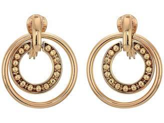 Lauren Ralph Lauren Clip Orbital Hoop Earrings