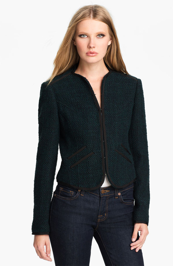 Ted Baker 'Pebelle' Crop Jacket