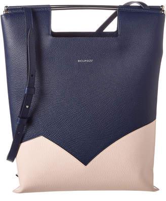 DELPOZO Leather Handbag
