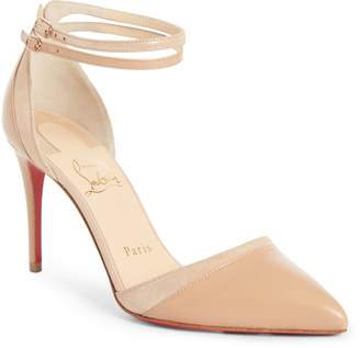 Christian Louboutin Uptown Ankle Strap Pump
