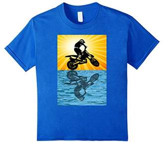 Dirt Bike Motorcross Motorcycle T-Shirt Graphic I Ride Bikes