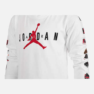 Jordan Boys' Air Pinned Up Long-Sleeve T-Shirt