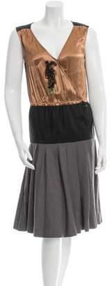 Lanvin Spring 2015 Embellished Dress