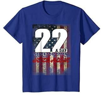 DAY Birger et Mikkelsen 22 A Veteran Lives Matter-US Veterans Military T Shirt