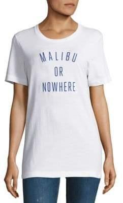 Knowlita Malibu Or Nowhere Cotton Graphic Tee