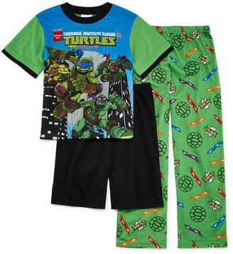 LICENSED PROPERTIES Teenage Mutant Ninja Turtles 3-pc. Pajama Set- Boys