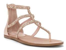 Jessica Simpson Cammie Satin Ankle-Strap Sandals