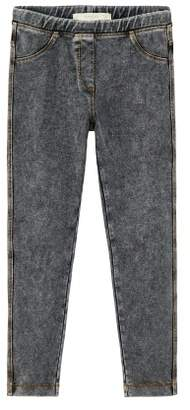 MANGO Elastic denim leggings