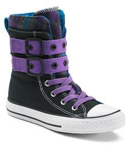 Kid's Converse All Star Glendale X-Hi High-Top Sneakers $55 thestylecure.com