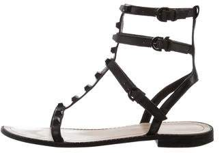 Rebecca Minkoff Leather Studded Sandals