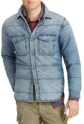 Polo Ralph Lauren Washed Denim Button-Down Shirt