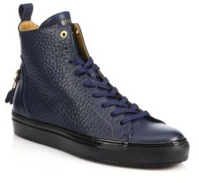 AndroidANDROID HOMME Alfa High-Top Leather Sneakers