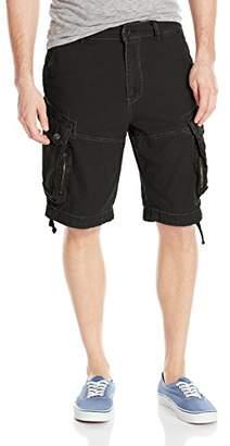 Jet Lag Men's Zipped Pockets Cargo Short
