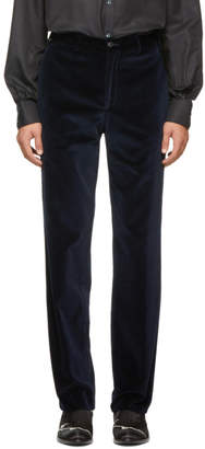 Cobra S.C. Navy Velvet Classics Trousers