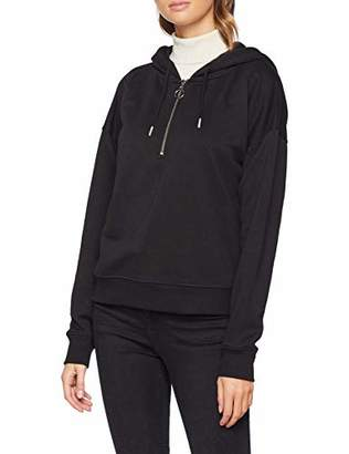 New Look Women's Half Zip 6152241 Hoodie,(Manufacturer Size:)