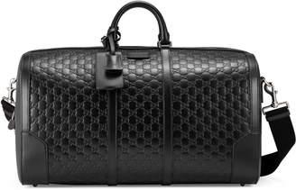 Gucci Signature leather duffle