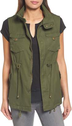 Pleione Cotton Twill Military Vest